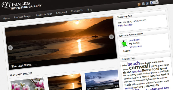 On-line photography gallery