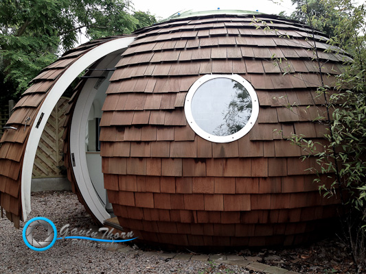 The Pod - A Spherical Shed