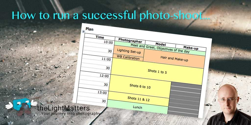How To Run A Photography Business: How To Run A Successful Photo-shoot