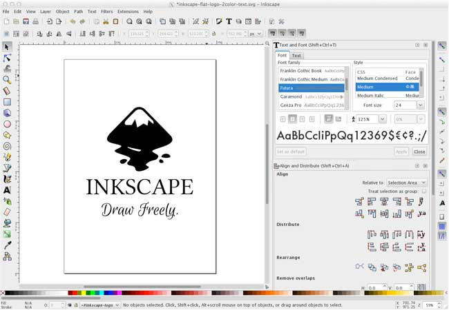 Inkscape Vector Drawing Tool Photography