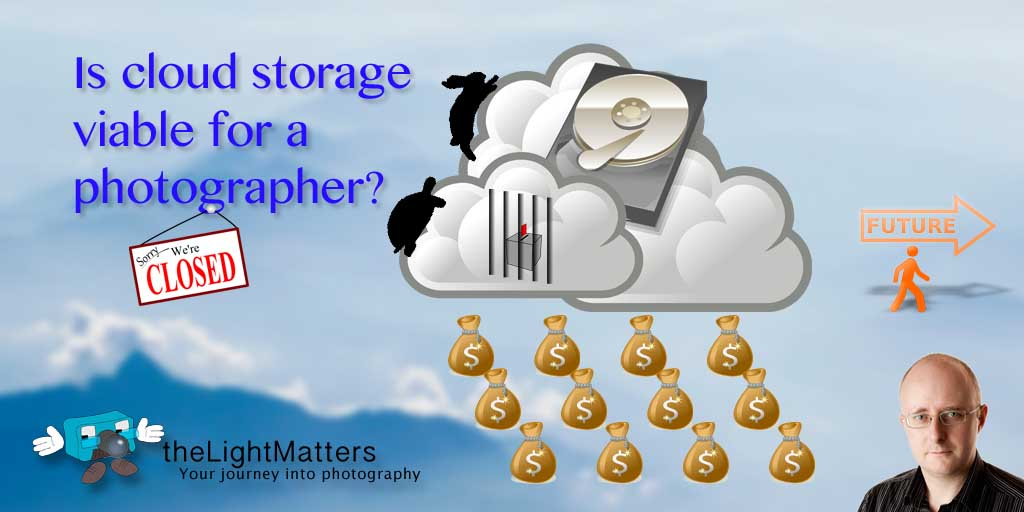 Cloud storage for a photography business