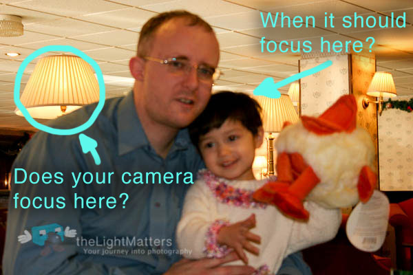Auto Focus gets it wrong
